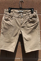 Gap Low Rise ORIGIONAL SOLID BEIGE BROWN Size: 6 REGULAR Shorts BERMUDA UNIFORM
