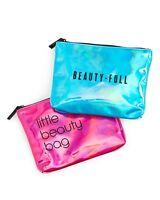 "Bloomingdale's Makeup Bag  ""Beauty Full"" or ""Little Beauty Bag"" Choose! New"