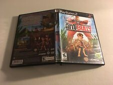 THE ANT BULLY PLAYSTATION 2 PS2 MINT CONDITION COMPLETE!-