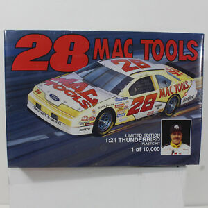 #28 Mac Tools Ernie Irvin Thunderbird 1/24 1994 Model Car Monogram Kit Seal LTD