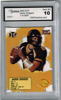 2005 Aaron Rodgers Breakthrough Prospects Draft Rookie Gem Mint 10