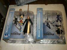 Diamond Select Kingdom Hearts MICKEY, AXEL, SHADOW, & ASSASSIN Figure Set NEW