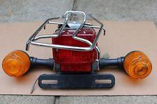 HONDA SPREE NQ50 REAR METAL RACK TURN SIGNAL ASSEMBLY BRAKE TAIL LIGHT LAMP OEM