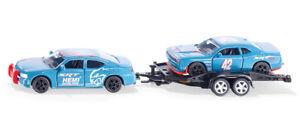 Siku 2565 - 1/55 Dodge Chargeur Avec Dodge Challenger SRT Course - Neuf