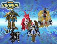 "Digimon 2.5"" Action Feature Mini Figures 2001 Bandai CHOOSE wargreymon"