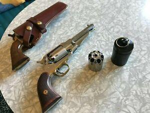 Étui métal noir pour barillet Pietta Remington 1858 cal 44 (stockage)