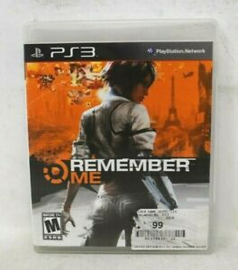 Remember Me  - Sony PlayStation 3 PS3 NO MANUAL
