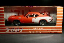 1/18 ERTL 1971 Plymouth Hemi Cuda Monster Mopar Weekend Tor Red MMW 1 of 2500