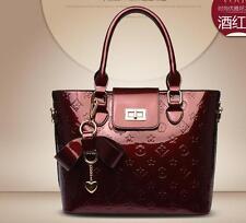 Women's Small Designer Leather Style Shoulder Bag Celebrity Tote Bags Handbag
