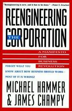 Reengineering the Corporation: A Manifesto for Business Revolution-ExLibrary