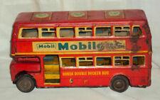 HANSA DOUBLE DECKER ADVERTISEMENT BUS MOBIL GAS GOOD YEAR 1960 VINTAGE FRICTION