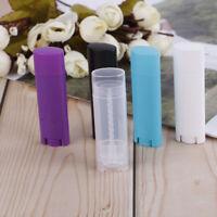 Leere Kosmetikbehälter Leere Lippenbalsam-Röhrchen Transparente Lippenstift C№w