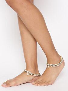 Indian Rhinestone Fashion jewelry Anklets Crystal Christmas Gift Wedding Set US