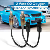 2Pcs 2 Wire O2 Oxygen Sensor For Holden Commodore V6 3.8L VR VS VT VU VX VY