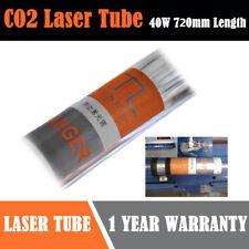 40W CO2 Tubo Laser Per incisore incisione Engraving Cutting 72cm Vetro Dia.50mm