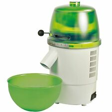 Hawos Novum Grain Mill with Funnel and Bowl Color: green 4.4 oz / Minute
