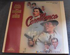 CASABLANCA MGM/UA HOME VIDEO LASER VIDEO DISC 1989