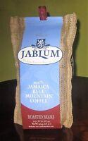 100% Jamaica Blue Mountain coffee beans Jablum 16 oz