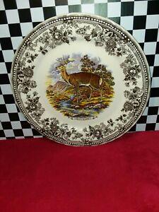 """Churchill Vintage Game Cervus Elaphus (Red Deer) 12"""" Platter"""