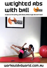 Pilates EXERCISE DVD - Barlates Body Blitz WEIGHTED ABS WITH BALL!