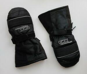 Vintage CKX TECHNOWEAR Snowmobile Leather Mittens XL