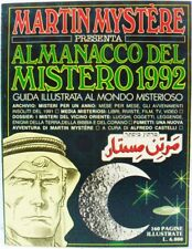 MARTIN MYSTÈRE almanacco del mistero 1992 buono/ottimo