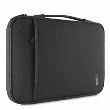 Belkin Slim Sleeve Carry Handle Storage Chromebooks Netbook Laptop 14 inch Black