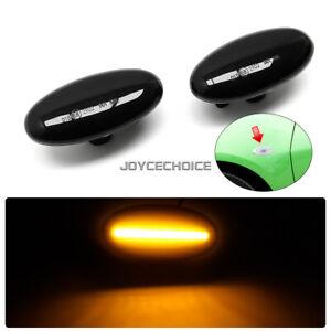 LED Dynamic Side Marker Light Blinker Indicator For Mazda 3 BK For Mazda 2 5 MPV