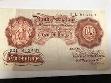 More details for b256 1948 last unthreaded 10/- shillings k o peppiatt last run-last series fine