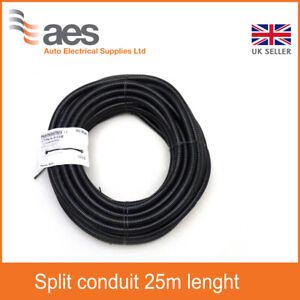 CTPA Flexible Black Conduit Size 20 Split - 25m Lenght