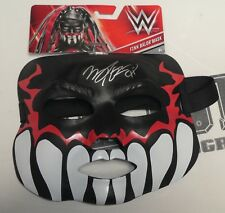 Finn Balor Signed WWE Demon King Mask BAS Beckett COA Pro Wrestling Autograph