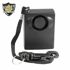 Streetwise Personal Protection Alarm Loud Self Defense 130DB Panic Security