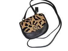 NEW Coach Park Haircalf Mini Crossbody Leopard Ocelot NWT $168
