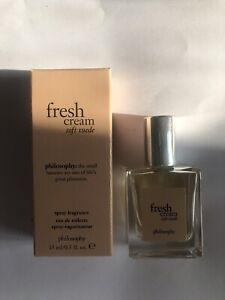 Philosophy Fresh Cream Pure Suede 15ml  *USED*