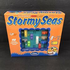 ThinkFun Stormy Seas - Seafaring Puzzle Game - 40 Challenges Brand New