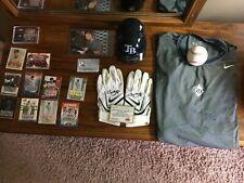 Jason Bartlett autographed lot - Twins / Rays / Padres - Ball, Mini, Jersey, etc