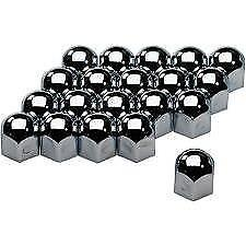 High Chrome Stainless Steel Wheel Nut Covers 17mm fits SAAB 9-3 9-5