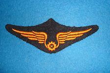 """Insigne """" TROUPE """" Mécaniciens Armée de l'Air (vers 1950 ) INDOCHINE./ ALGÉRIE"""