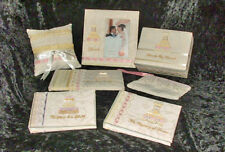 Lot of 7 Fabric of Love Wedding Mementos Set from Demdaco NEW!