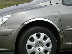 BMW 3 E36 Bj.90-00 Radlauf Zierleisten Chrom Satz 4 Stück Limousine Kombi