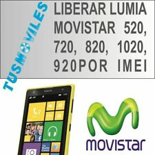 Liberar Lumia MOVISTAR 610 910 Lumia 810 Lumia 820 825 800 510 720 España