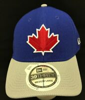 TORONTO BLUE JAYS MLB NEW ERA 39THIRTY REVERSE DIAMOND FLEX FIT HAT CAP M/L