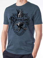 Ravenclaw Wise Crest Official Harry Potter Hogwarts Blue Mens T-shirt
