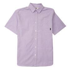 Fourstar Skateboards Clothing Boys Short Sleeve Ramirez Shirt Purple 8-9 Years