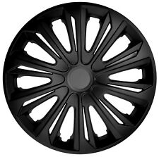 "4x15"" Wheel trims wheel covers for Seat Ibiza 15"" black matt"