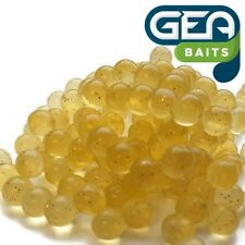 SOFT LURE 50 X Yellow Salmon Eggs Carp Fishing TROUT fly fishing 8 mm Bait