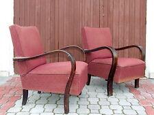 Pair Art Deco Armchairs. Club Cocktail Chairs Original 1920s Vintage Antique.