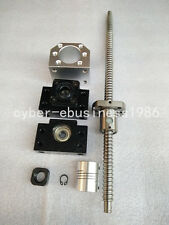 1 set RM2005--1100mm Anti-backlashed Ballscrew &BF15/BK15& 8*12mm Coupling