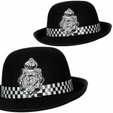 British Police Officer Ladies Fancy Dress Hat WPC Policewoman Adult New