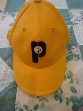 "Men's  size 6 7/8 Pittsburg Steelers Nike Gold ""P"" Ball Cap"